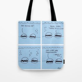 Happy As A Clam - Original Comic Tote Bag