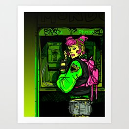 THEY'RE COMING TO GET YOU Art Print