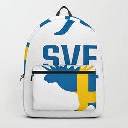 Moose Scandinavia Vintage Retro Norway & Sweden Backpack