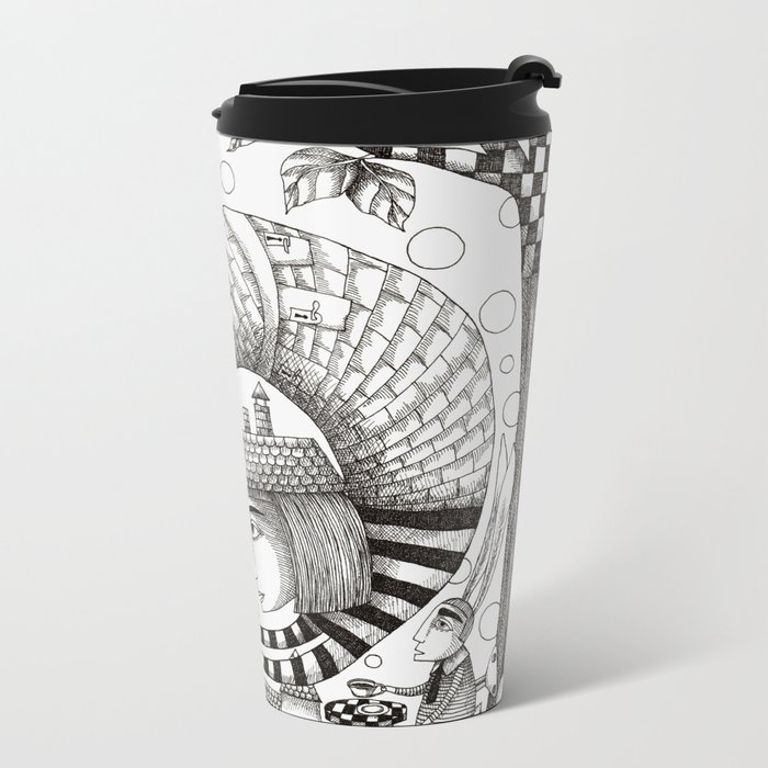 There will be Nonsense in it Metal Travel Mug