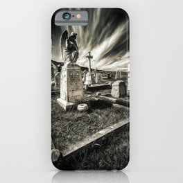 Great Orme Graveyard iPhone Case