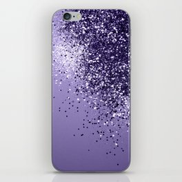 ULTRA VIOLET Glitter Dream #1 #shiny #decor #art #society6 iPhone Skin