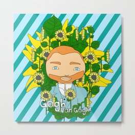 Gogh, Van Gogh Metal Print