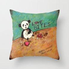 Love Bites Throw Pillow