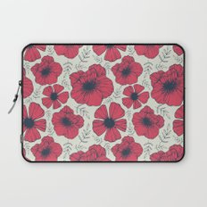 Raspberry Flowers Laptop Sleeve