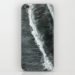 Black Sands of Iceland (2) iPhone Skin