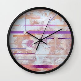 It's Coarse On The Inside Sometimes Wall Clock