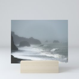 Pacific Northwest Beach Storm Mini Art Print