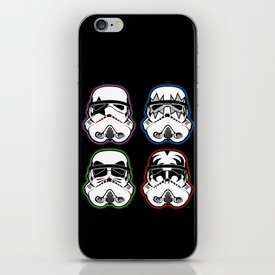 Kiss Troopers iPhone & iPod Skin