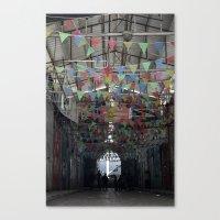 palestine Canvas Prints featuring Nablus Palestine by Sanchez Grande
