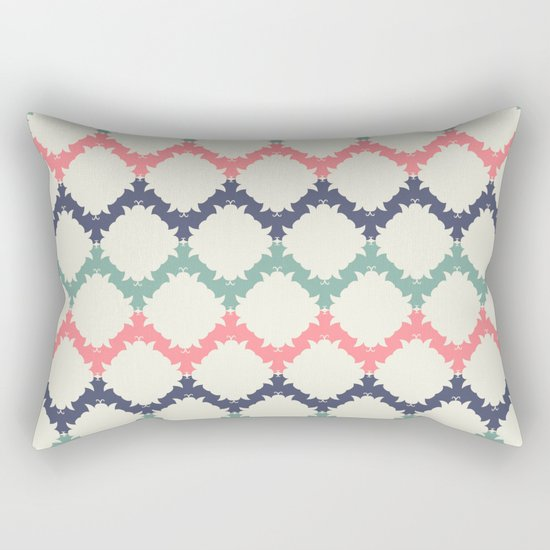 Thinking About Azulejos Rectangular Pillow