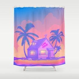 80s Kame House Shower Curtain