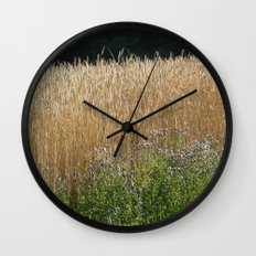 Field of summer Wall Clock