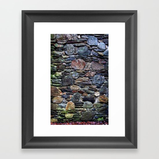 I So Love Rock Walls Framed Art Print