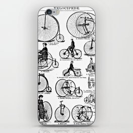Velocipedes iPhone Skin