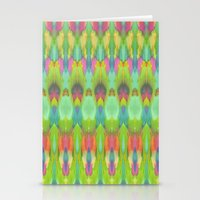 ikat Stationery Cards featuring Ikat  by Amber Nuttall