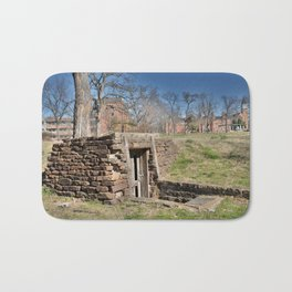 Cherokee Nation - Hendricks Spring, the Site Selected for Seminary Hall, after the first burned, #2 Bath Mat