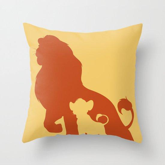 The Lion King Throw Pillow