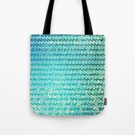 Mermaid Waves and Sea Foam, Sun Light over the Ocean Tote Bag