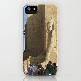 Temple of Karnak at Egypt, no. 5 iPhone Case