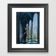 Ready to the Victory Framed Art Print