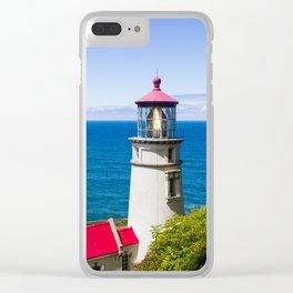 Keep an Eye Out - Heceta Head Lighthouse Clear iPhone Case