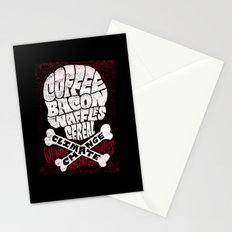Culinary Casualties of Climate Change Stationery Cards
