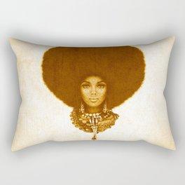 Afrofuturism fashion design- 1974 Rectangular Pillow