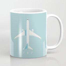 787 Passenger Jet Airliner Aircraft - Sky Coffee Mug
