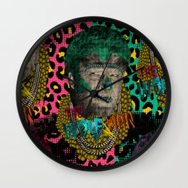 The Wolf Man Wall Clock