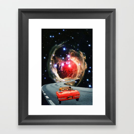 Naive Honeymooners Framed Art Print