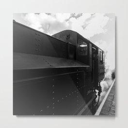Flying Pig 43106 in steam Metal Print