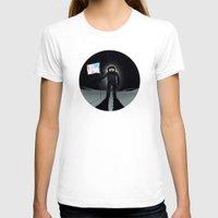 lunar T-shirts featuring Lunar Walk by Nick Wiinikka