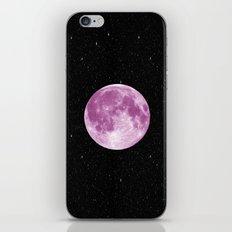 Pink moon iPhone & iPod Skin