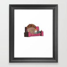 Comfort Food Framed Art Print