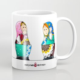 MATRYOSHKA CONFUSED Coffee Mug