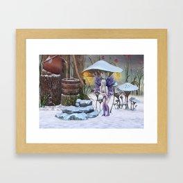 Cold Day Framed Art Print