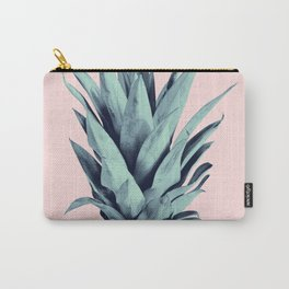 Blush Pineapple Dream #1 #tropical #fruit #decor #art #society6 Carry-All Pouch