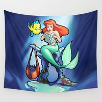 comic book Wall Tapestries featuring Comic Book Day by rnlaing