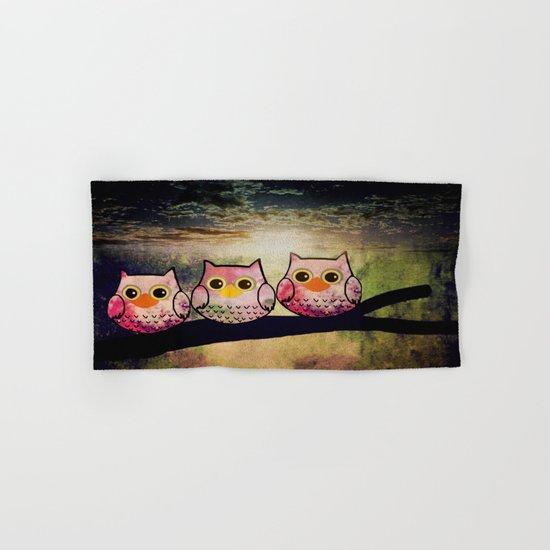owl-1 Hand & Bath Towel