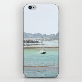 Walking on the shore iPhone Skin