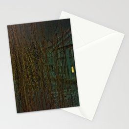 Concept landscape : Mystic mood in the city Stationery Cards
