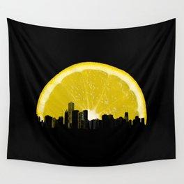 super lemon Wall Tapestry