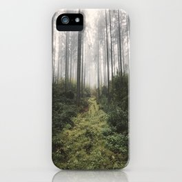 Unknown Road - landscape photography iPhone Case