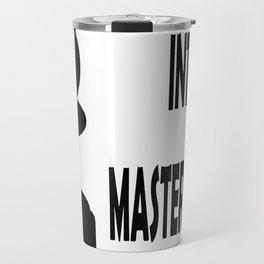 INTJ MASTERMID MBTI rare personality type Travel Mug