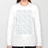 ships Long Sleeve T-shirts featuring ships by Dlinnaya