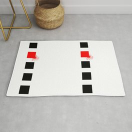 Don't Lose Control (Square) Rug