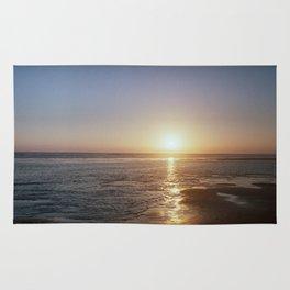 Sunset - La Palmyre, France Rug