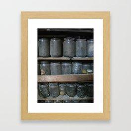 Wilensky's Jars Framed Art Print