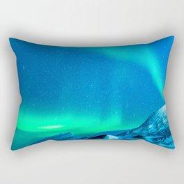 Northern Lights (Aurora Borealis) 3. Rectangular Pillow